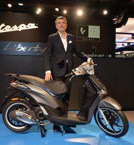 Marco Lambri, responsabile del Centro Stile del Gruppo Piaggio