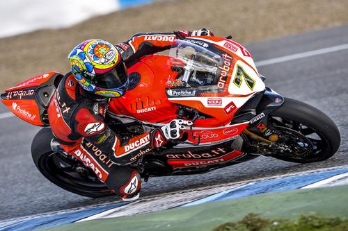 SBK. Sykes davanti a Giugliano nei test di Jerez (5)