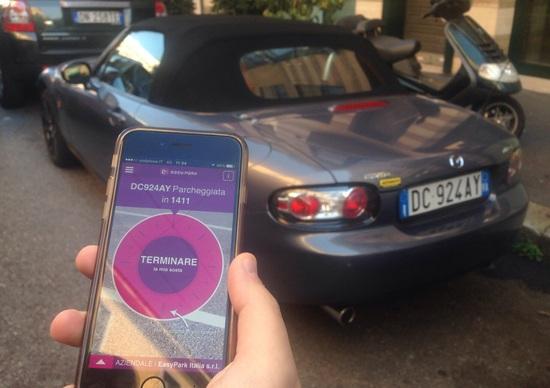 EasyPark, il parcheggio si paga via smartphone: lo abbiamo provato