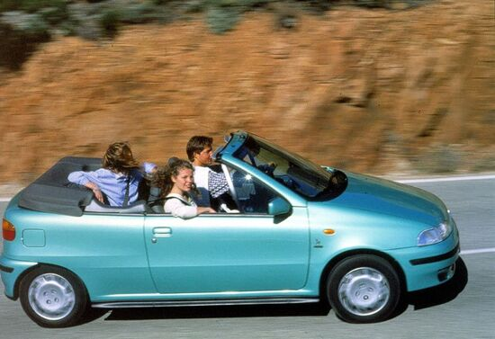 La Fiat Punto Cabrio del 1994 costruita dalla Bertone