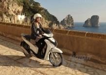 Parata di stelle a Capri per il nuovissimo Honda SHi