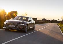 Audi A6 Sedan 2018. Tecnologia di A7 e A8 e che handling! [Video]