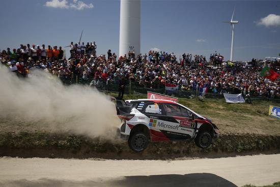 Sfortunata la Toyota in questo round del mondiale