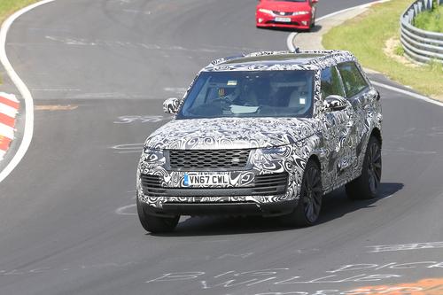 Range Rover SV Coupé, le foto spia (3)