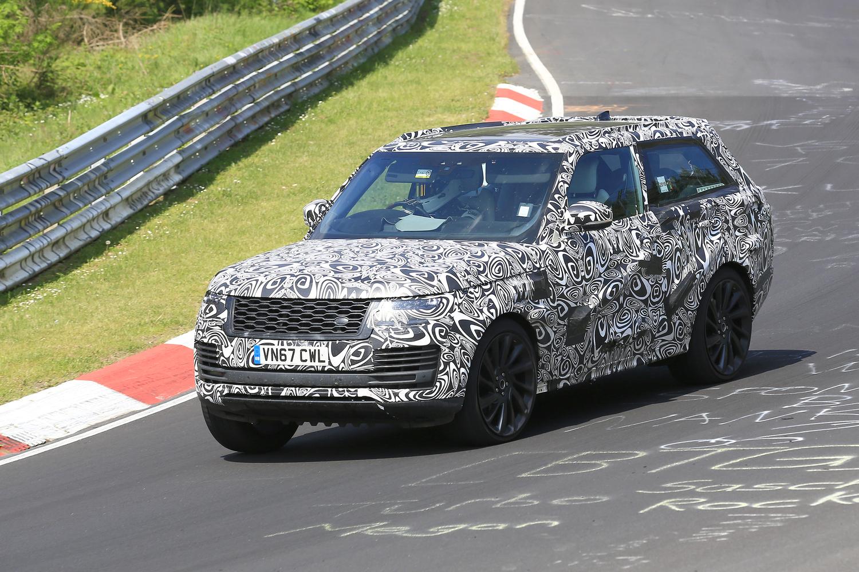 Range Rover SV Coupé, le foto spia