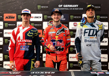 MX 2018. Dichiarazioni dal podio, il GP di Germania