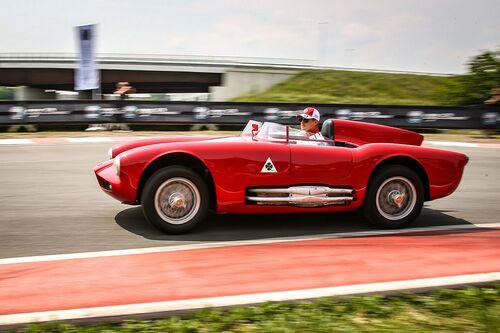 Mille Miglia 2018: trionfo Alfa Romeo con onore al Museo storico di Arese [video] (5)
