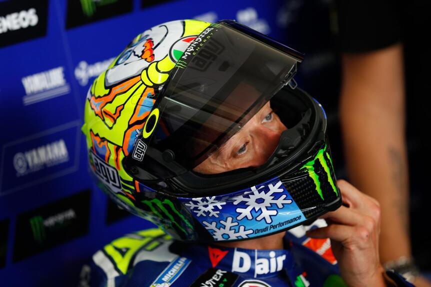 MotoGP. Il casco #SepangTest di Valentino Rossi (4)