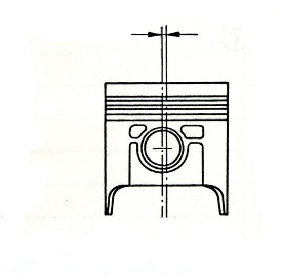 Il diassamento dello spinotto consente di rendere più dolce il passaggio del pistone da un lato di appoggio all'altro all'interno del cilindro, con conseguente riduzione della rumorosità