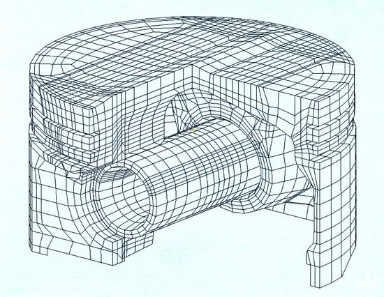 Oggi i pistoni vengono progettati al computer, che rende possibile ottimizzare il loro disegno anche in funzione dell'abbattimento delle emissioni acustiche
