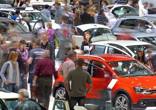 Mercato Auto Italia Il Parte Bene A Gennaio News - Mercato car show