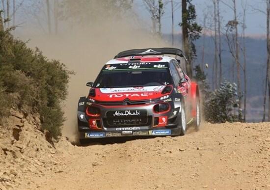 """WRC 2018/Citroen. Ostberg e Breen, 6° e 7° al termine di un Rally """"particolare"""""""