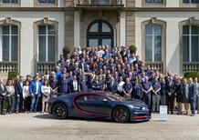 Bugatti Chiron: prodotta la numero 100