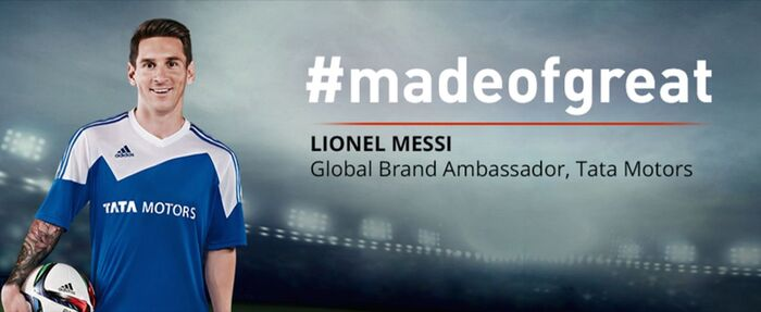 Lionel Messi è testimonial della Casa indiana