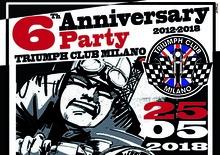 Triumph Club Milano: 6 anniversario a Motosplash