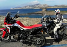 Honda Africa Twin CRF1000L vs Triumph Tiger 800 XCa: la prova On e Off-road