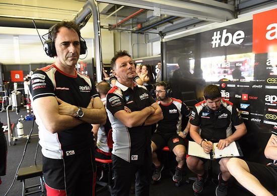 """Albesiano, Aprilia: """"Settimana prossima in pista con la nuova RS-GP"""""""