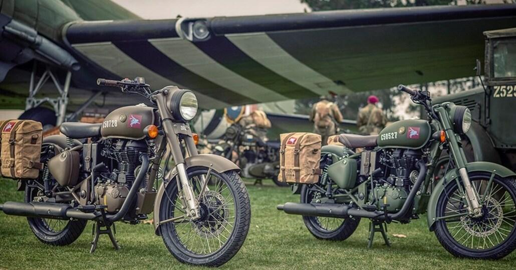 Royal Enfield Pegasus, edizione speciale (da paracadutista) della Classic 500