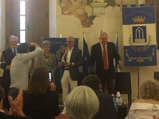 La premiazione a Walter De Silva