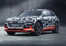 Audi e-tron, l'aerodinamica che conta