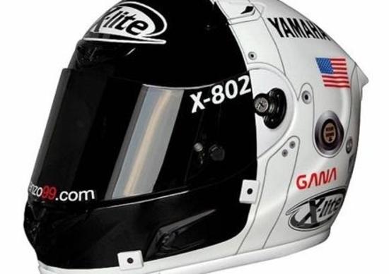 X-Lite, un casco 'lunare' per Lorenzo all'Estoril