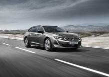 Peugeot 508 SW al Salone di Parigi 2018 [Video]
