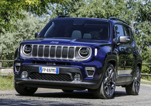Jeep Renegade 2019, debutto al Parco Valentino [Video]