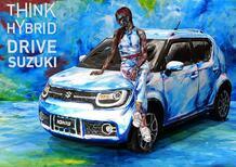 Suzuki Hybrid Art al Parco Valentino Salone Auto Torino 2018, Intervista [video]