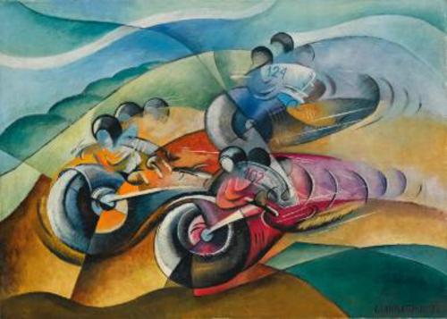 Le moto e l'arte: la pittura (3)