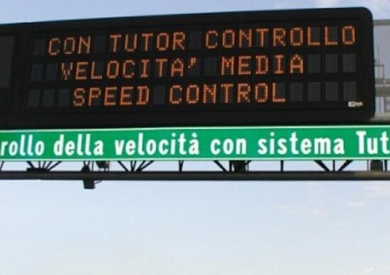 Autostrade: nuovo Tutor più preciso e veloce, sarà attivo da luglio