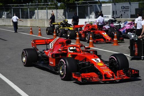 F1, GP Canada 2018: vince Vettel (7)