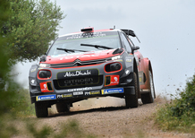 WRC 2018/Citroen. Italia Sardegna Finale. Ostberg 5°, Breen 6°