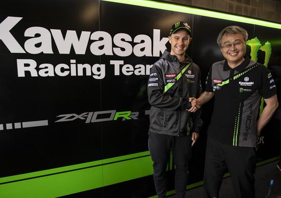 SBK. Rea rinnova con Kawasaki per altri due anni