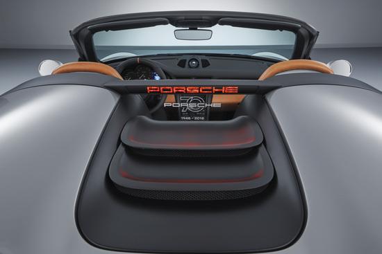 I dettagli della nuova Porsche 911 Speedster Concept