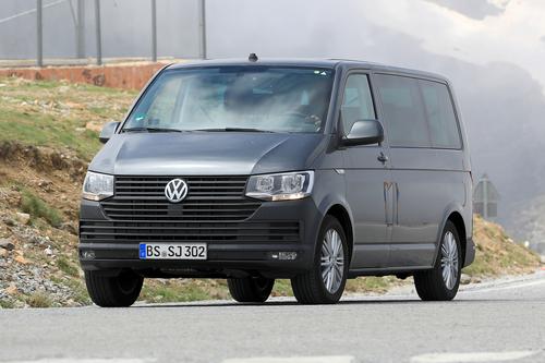 Volkswagen T7: ecco i muletti in strada (9)
