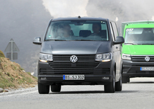 Volkswagen T7: ecco i muletti in strada