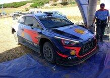 WRC18 Italia Sardegna. Siamo saliti a bordo della Hyundai i20 WRC
