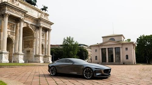 Mazda Vision Coupé a Milano, con il nuovo stile artistico della Casa giapponese [video] (5)