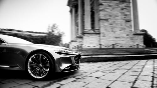 Mazda Vision Coupé a Milano, con il nuovo stile artistico della Casa giapponese [video] (2)
