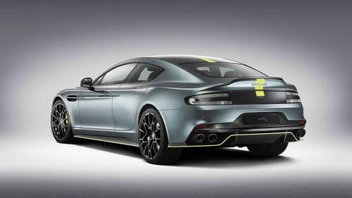 Aston Martin Rapide AMR, la serie limitata da 600 CV (2)