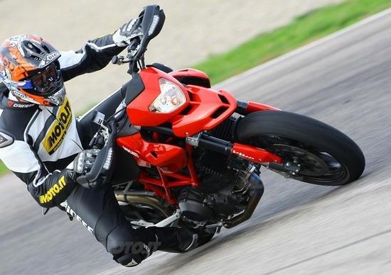 Ducati Hypermotard 1100 EVO ed EVO SP