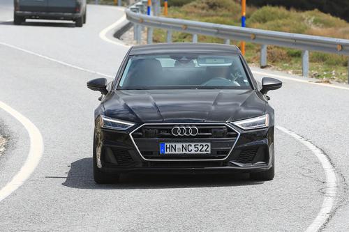 Audi S7, le foto spia (2)