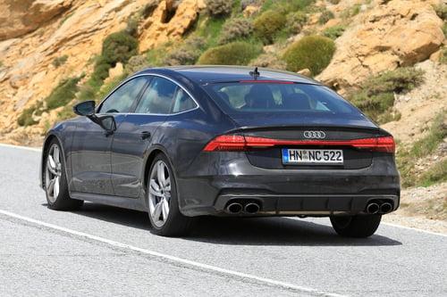 Audi S7, le foto spia (6)