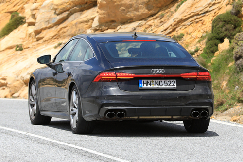 Audi S7, le foto spia (7)