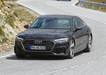 Audi S7, le foto spia