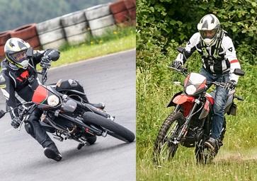 Aprilia RX 125 e SX 125. Doppia personalità