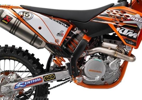 Da KTM arriva la Replica delle moto del Mondiale MX