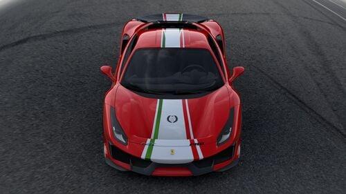"Ferrari 488 Pista ""Piloti Ferrari"", dedicata a chi corre (3)"