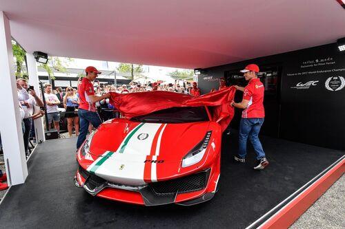 "Ferrari 488 Pista ""Piloti Ferrari"", dedicata a chi corre (7)"