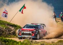 WRC18 Italia Sardegna. Citroen Racing Area 51